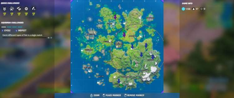 All XP Coin locations in Fortnite Chapter 2 Season 3 Week 4