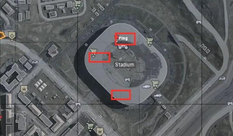 locked door locations in Call of Duty: Warzone