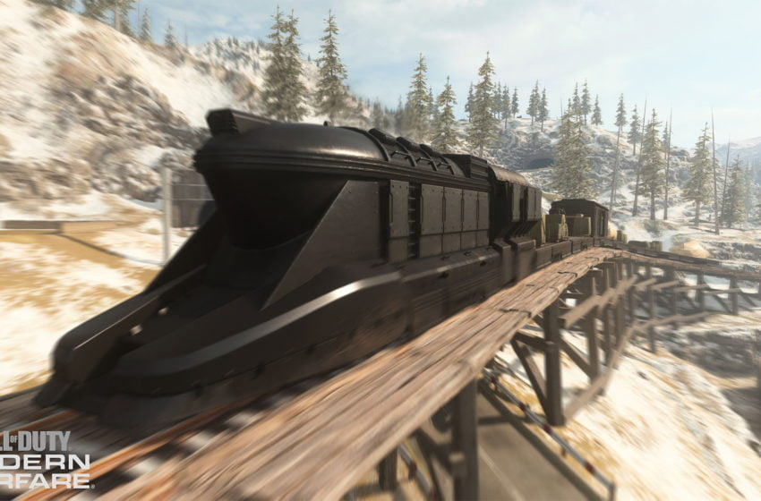 Can you drive the loot train in Call of Duty: Warzone?