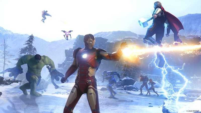 Ant Man, Captain Marvel, and Dr Strange playable characters discovered in Marvel's Avengers