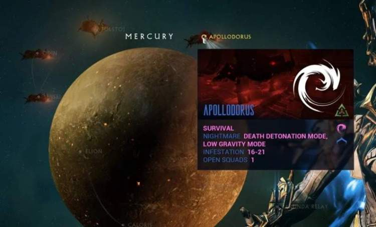 Nightmare Missions in Warframe