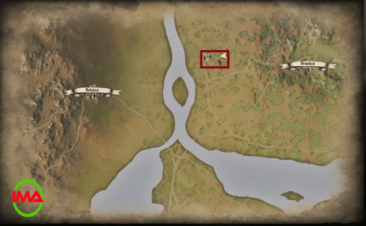Location for chest for infinite gold