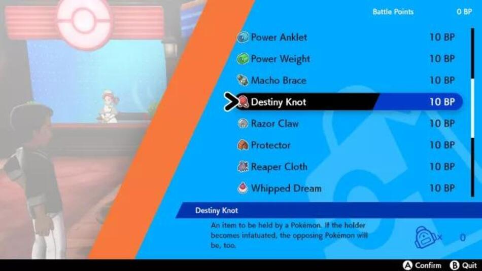 Pokemon Sword and Shield: How to get the Destiny Knot