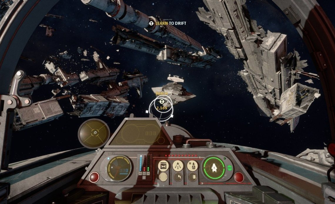 How to Drift in Star Wars: Squadrons