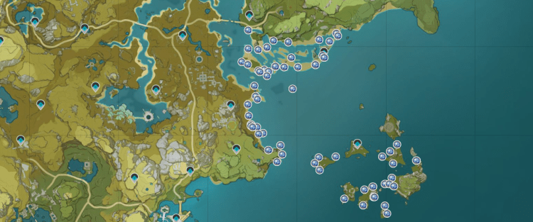 Where to find Starconch in Genshin Impact