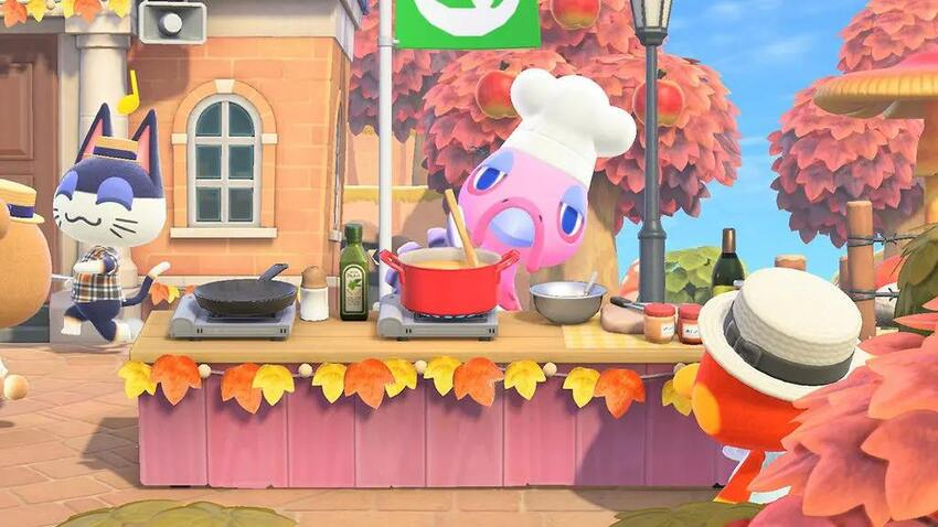 Turkey Day Recipes and DIY Recipes in ACNH