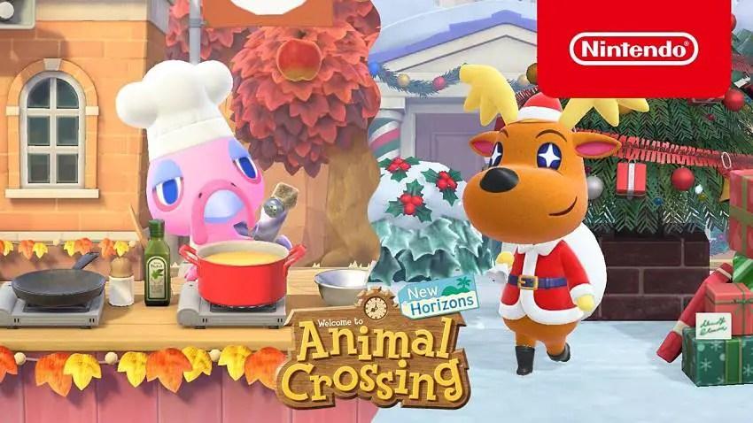 Animal Crossing: New Horizons' Winter update