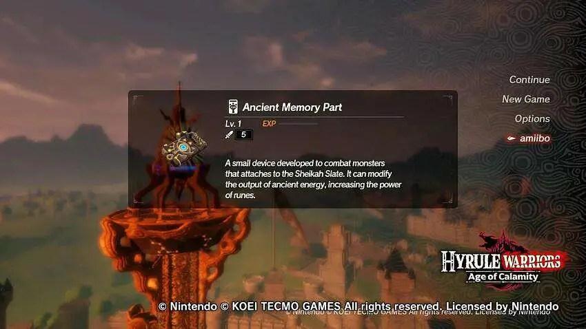 Hyrule Warriors Age Of Calamity Amiibo Drops Isk Mogul Adventures