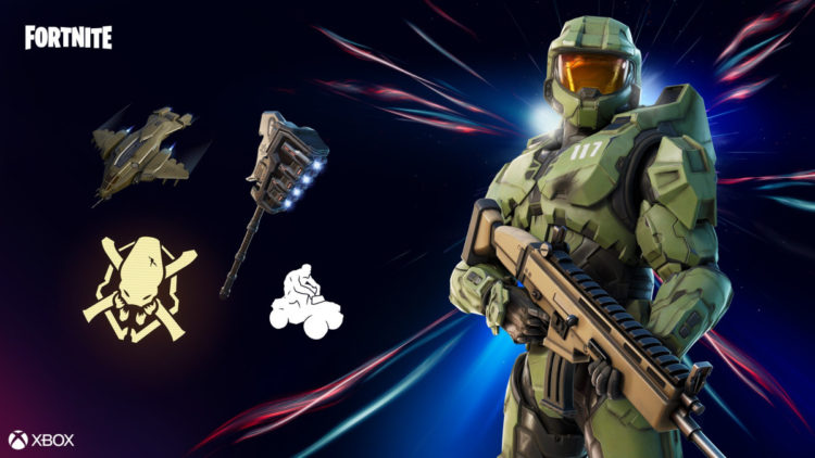 Master Chief joins Fortnite