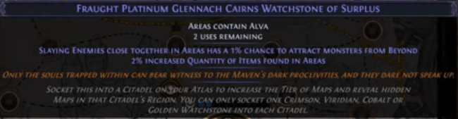 Watchstone and Sextant Mods
