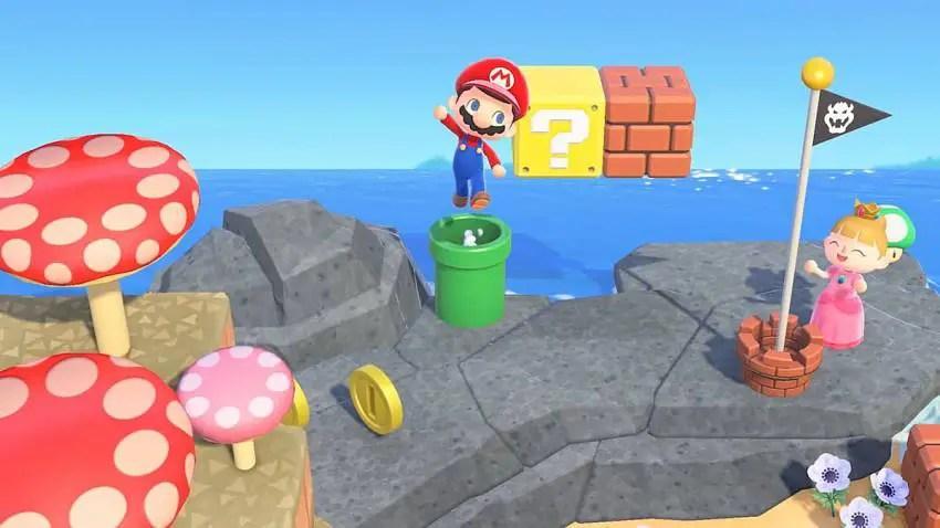 All Animal Crossing: New Horizons Mario items