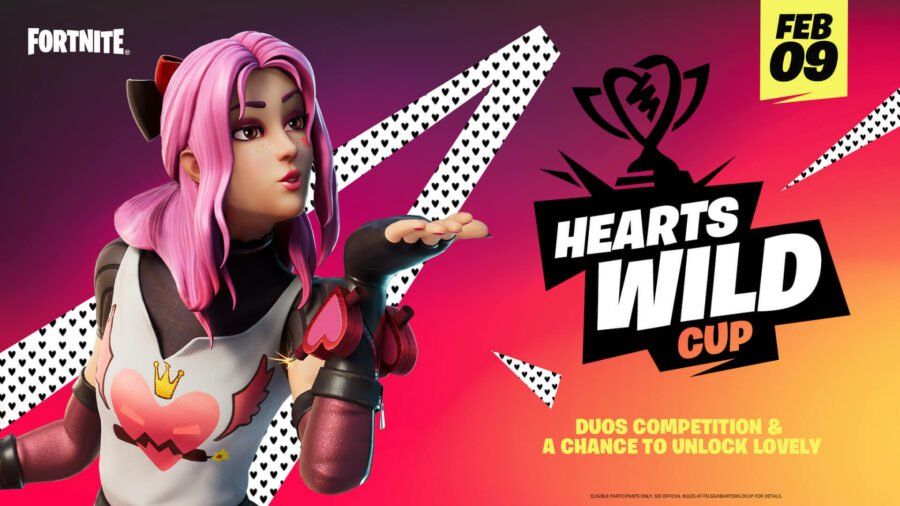 Get ready for the Fortnite Hearts Wild Event