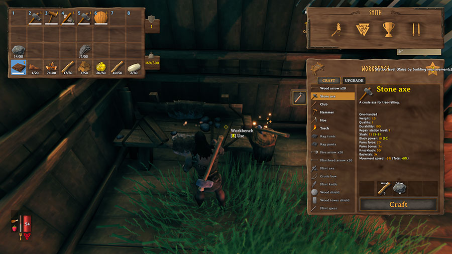 How To Upgrade The Workbench in Valheim