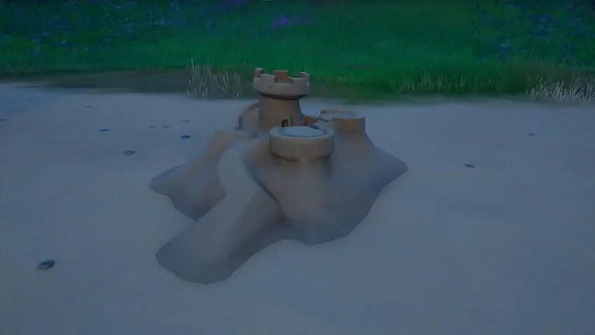 How to Destroy Special Sandcastles in Fortnite Season 6