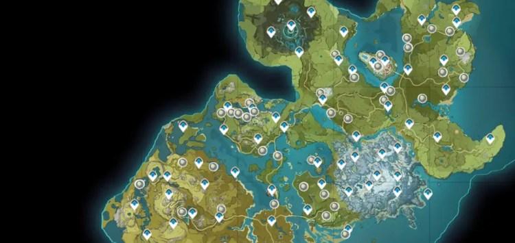 Bird Egg Locations in Genshin Impact