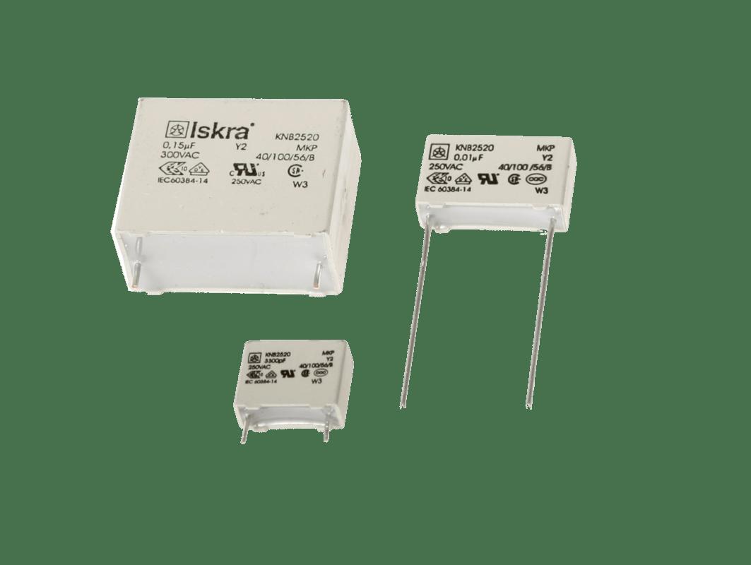 hight resolution of polypropylene film capacitors knb2520 rfi class y2