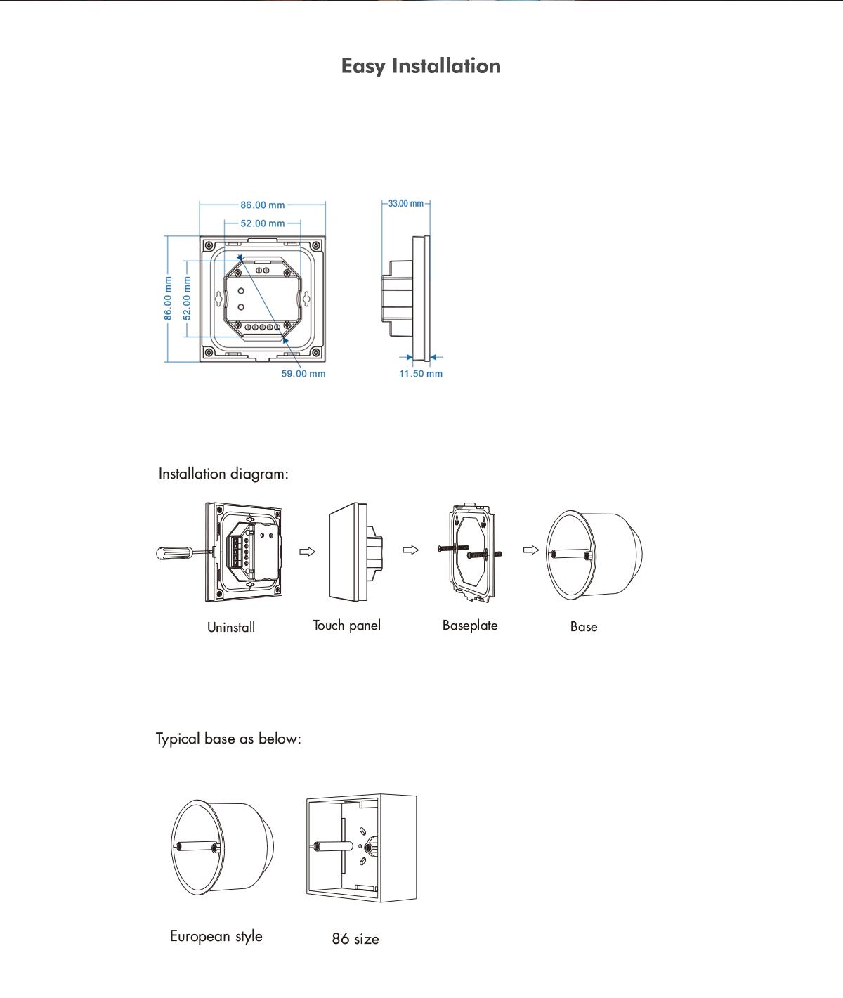 3CH*4A 12-24VDC CV Controller T3-1