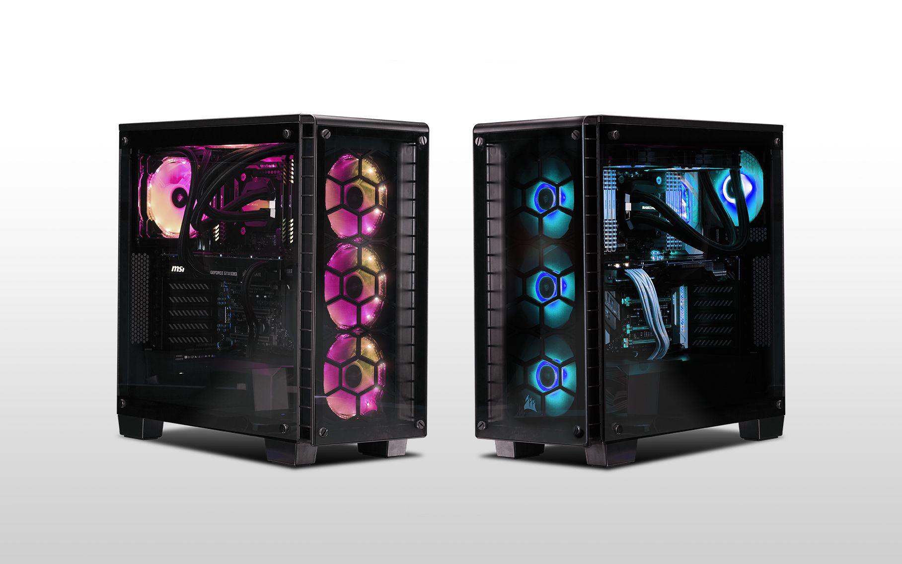 Descubre la nueva torre Corsair Crystal 460X y sus