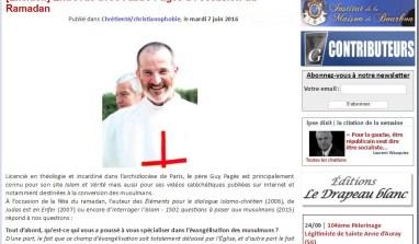 Entretien avec l'abbé Pagès à l'occasion du Ramadan