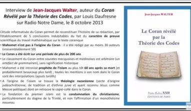 Le Coran révélé par la Théorie des Codes