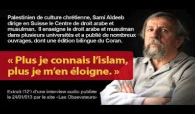 Sami Aldeeb – Cohabitation impossible avec l'islam à moins que…