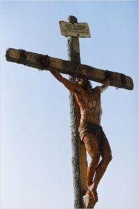 Enseignement catholique  par l'Abbé Pagès  J%C3%A9sus-en-croix-Mel-Gibson