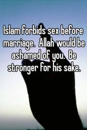 Sex before Marriage