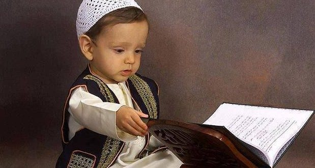 cute child quran