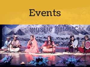 Events in Islamabad