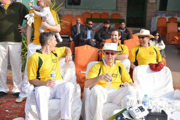 Diplomats and others professionals participated in two-day cricket event in Islamabad.