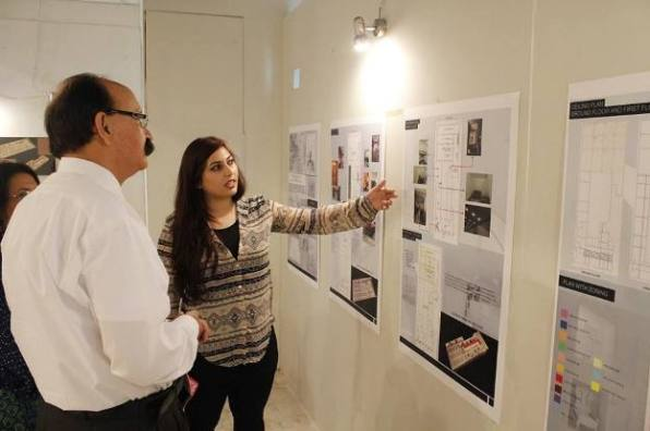 Exhibtion by student of Department of Architecture and Design of COMSATS, Islamabad