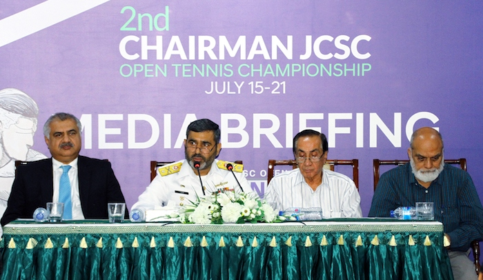Pakistan Navy to host 2nd CJCSC Open Tennis Championship 2019