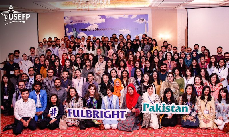 156 Pakistanis receive Fulbright Scholarships to study in US
