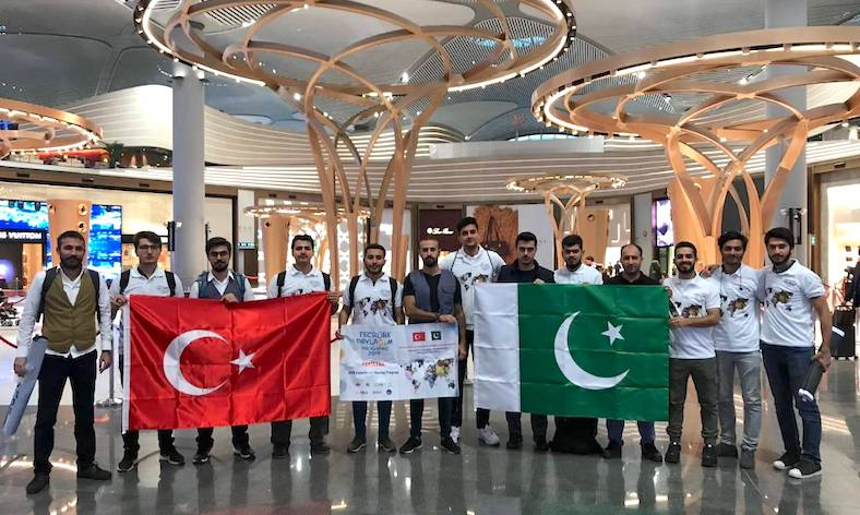Turkish students visit Pakistan on exchange program