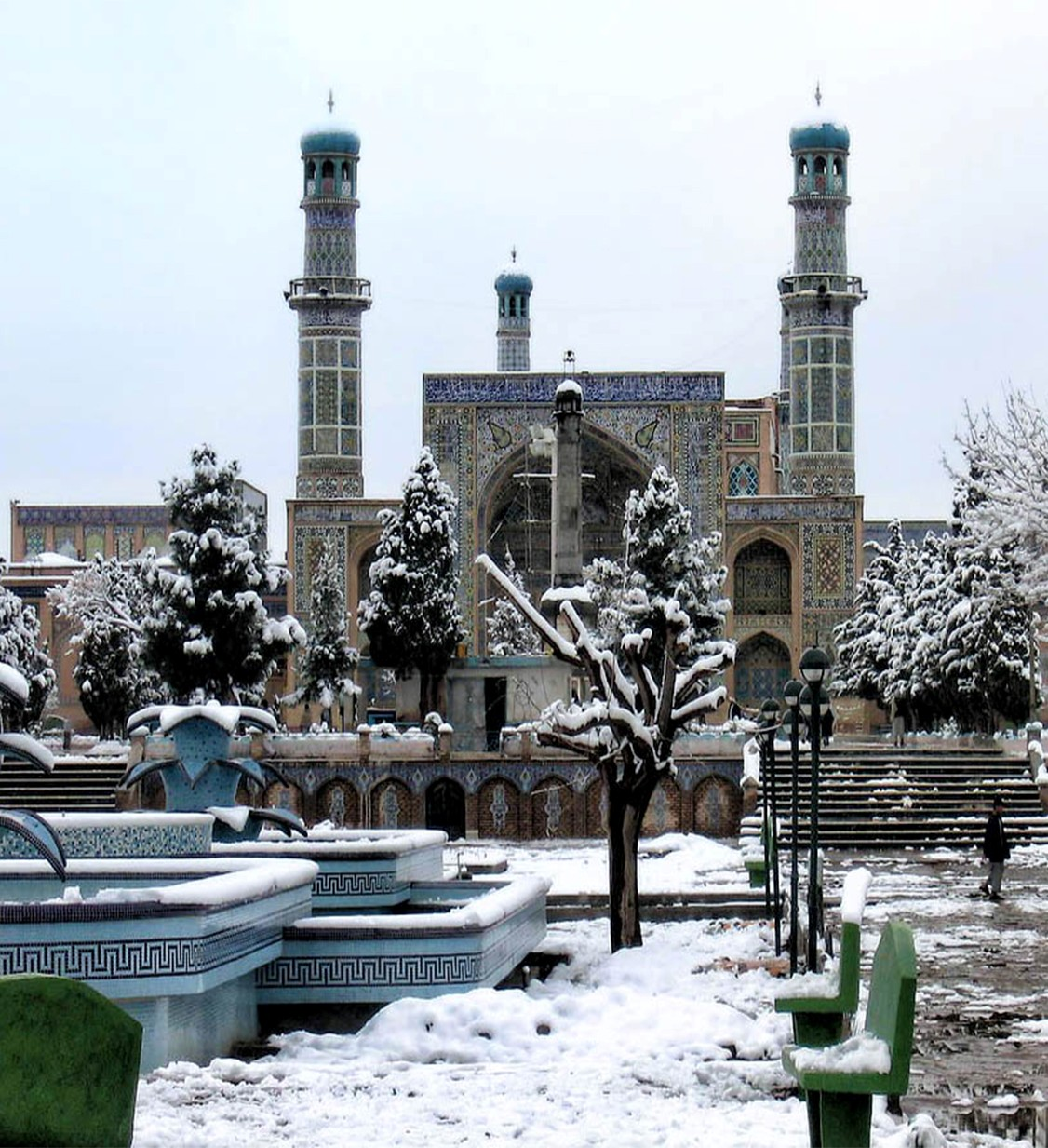 The Great Mosque in Herat, Afgahnistan