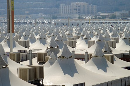 Pilgrim tents
