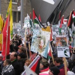 Photo of Israeli Crimes Protested