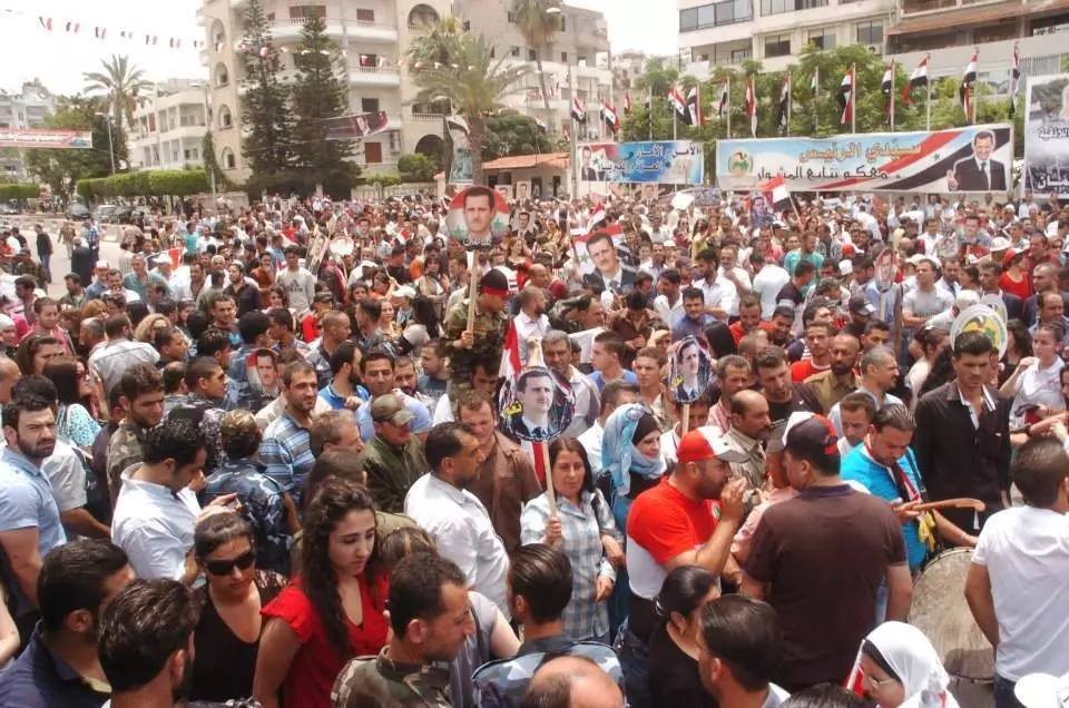 Syrians celebrations are still continued images from Lattakia2