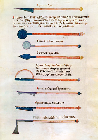 Al-ZahrawiÕs annotated illustrations of surgical instruments were circulating in Europe in Latin translation in the 14th century.