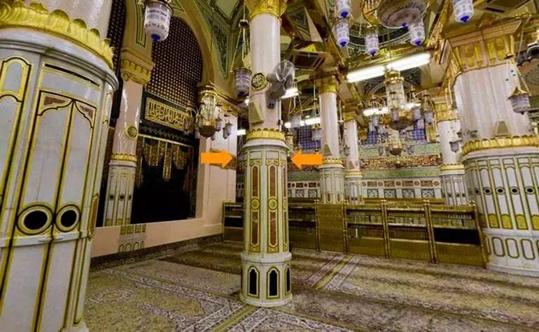 Pillars of Masjid-e-Nabwi: 3. Ustawaanah Tawbah