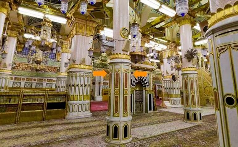 Pillars of Masjid-e-Nabwi: 4. Ustawaanah Aisha