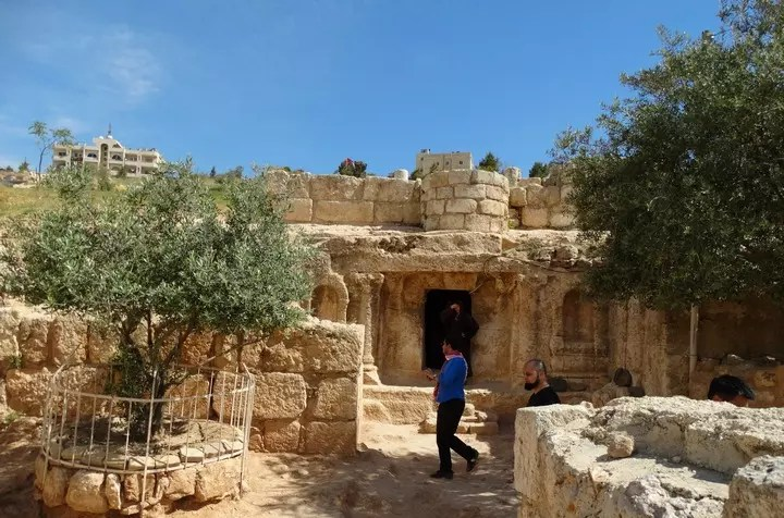Exterior of the Cave of the Ashabe-Kahf