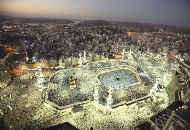Al-Haram Mosque - Larget Mosque in the world