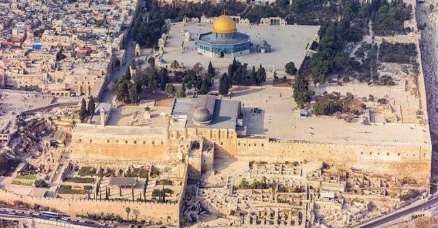 Al-Aqsa Mosque - one of the largest mosques
