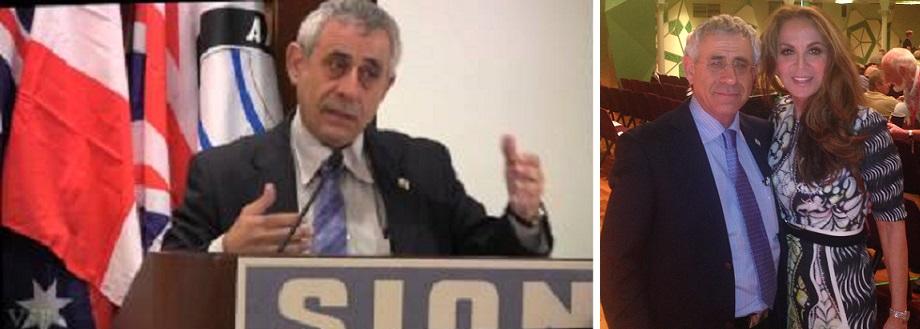Mordechai Kedar at SION conferences