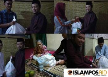 Masyarakat Cidahu menerima Paket Dhuafa Dari IslamposAid 8
