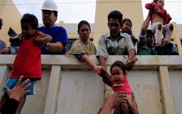 Foto: Evakuasi Warga