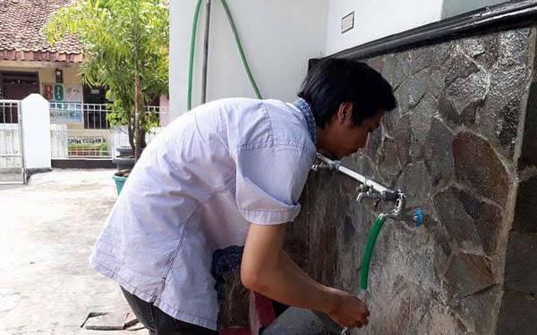 air wudhu