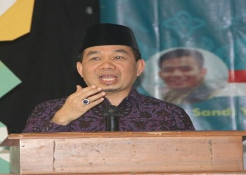 Ketua Fraksi PKS Jazuli Juwaini. Foto: Rhio/Islampos