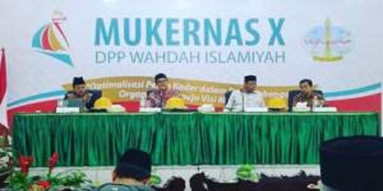 Mukernas X Wahdah Islamiyah. Foto: Rhio/Islampos